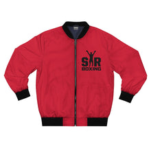 Load image into Gallery viewer, Red Bomber Jacket SBCC