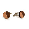 James Circular cufflinks - brass, steel & copper - Jewellery - Turpentine - 4