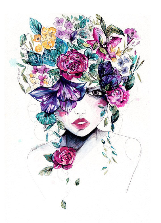 Flower Fro II - Limited edition - Prints - Holly Sharpe - 1