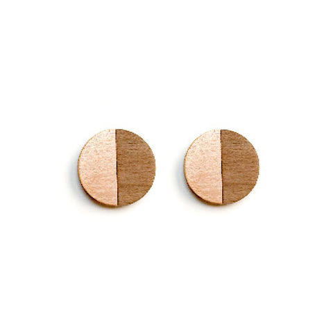 Jospehine earrings - copper, steel or brass