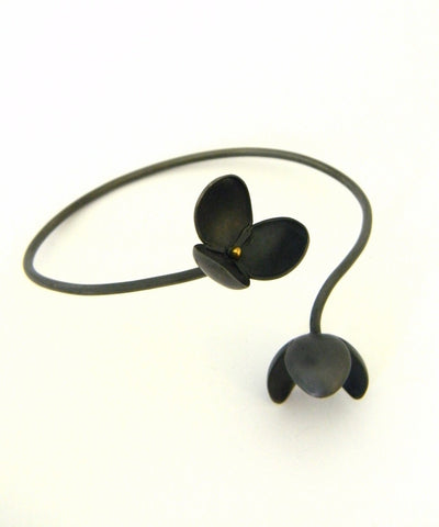 Japanese Coffee Spoon Flower bangle