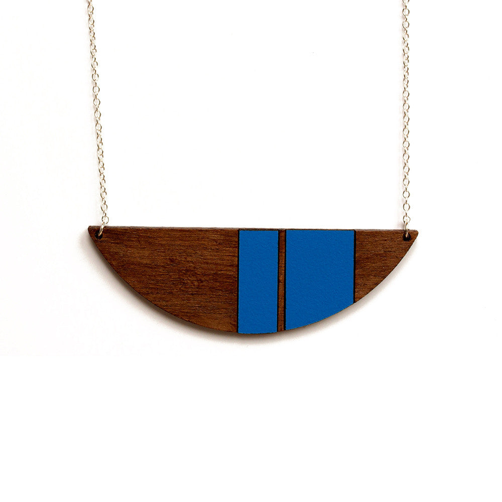 Naomi necklace - blue - Jewellery - Turpentine - 1
