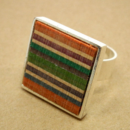 Skateboard square ring - Jewellery - Thrashion - 1