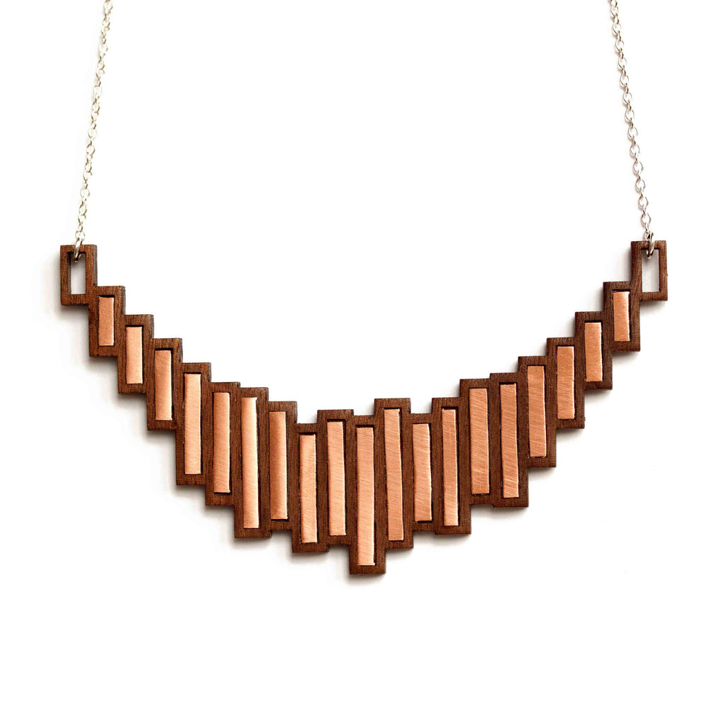 Stella necklace - copper - Jewellery - Turpentine - 1