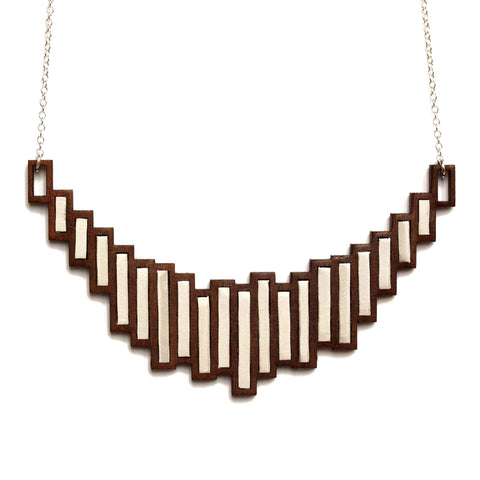 Stella necklace - steel
