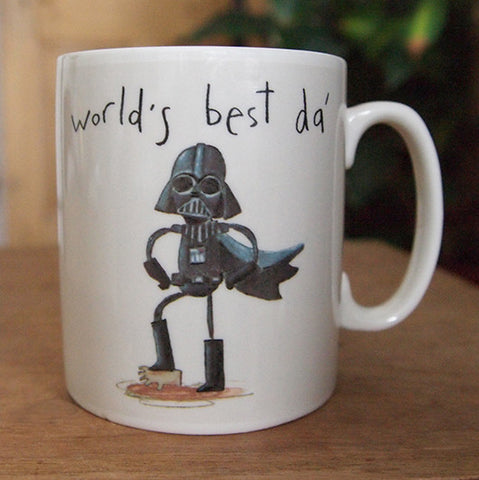 World's best da' mug