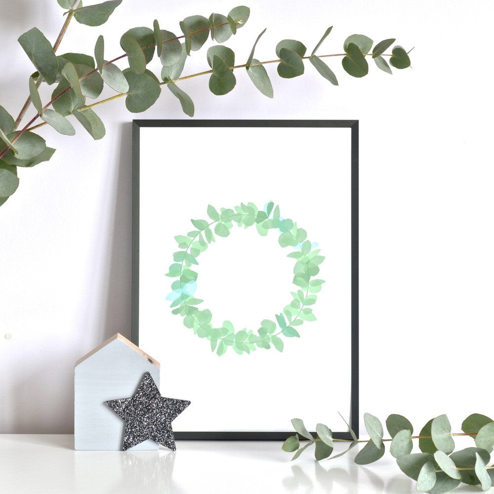 Wreath - Prints - Ingrid Petrie - 1