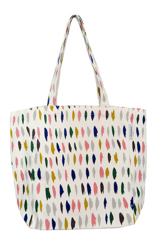 Dash over sized tote bag