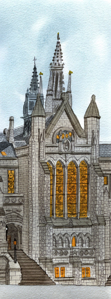 University Chapel - Prints - Adrian McMurchie