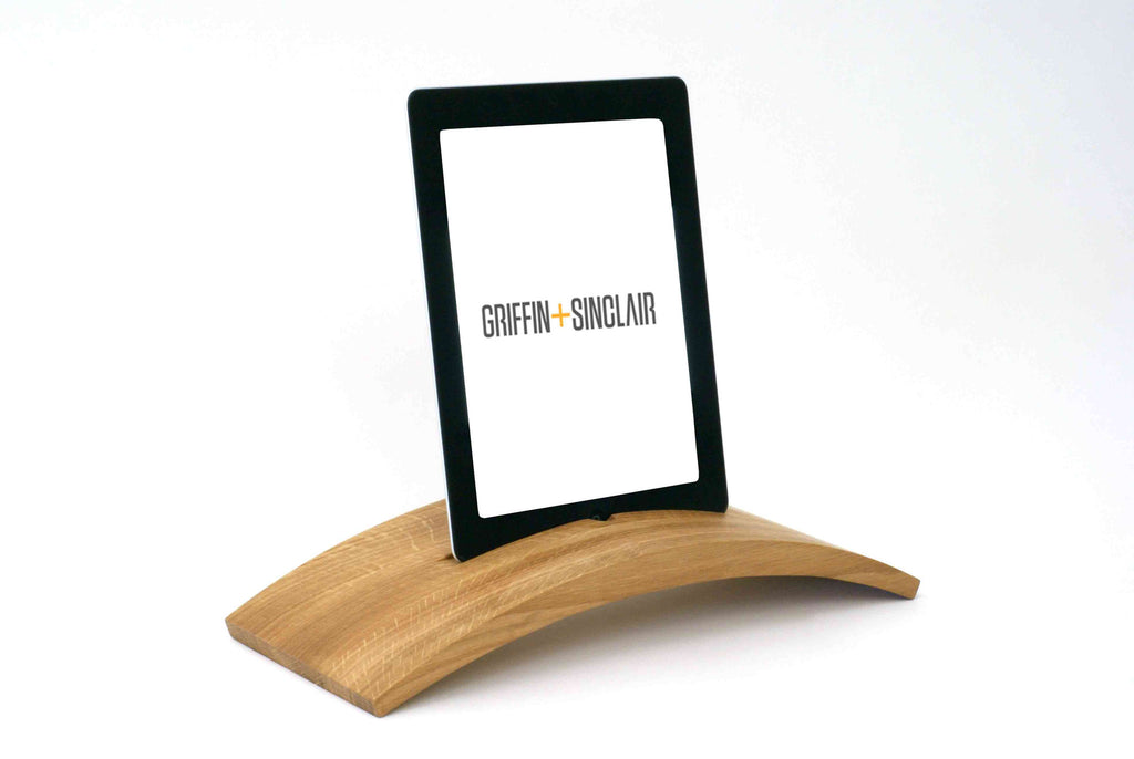 Lapp tablet stand - Brooches - Griffin + Sinclair - 1