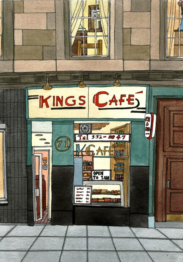 Kings Cafe - Prints - Adrian McMurchie