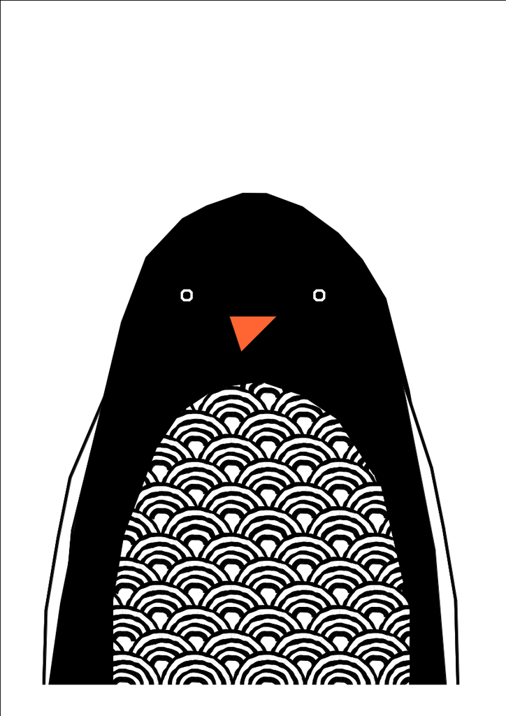 Penguin - Prints - Ingrid Petrie
