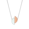 Lizzie reversible formica necklace - Aquamarine