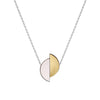 Lizzie reversible formica necklace - Rose