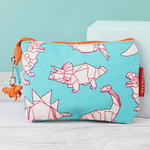Origami Dinosaur Coin Purse