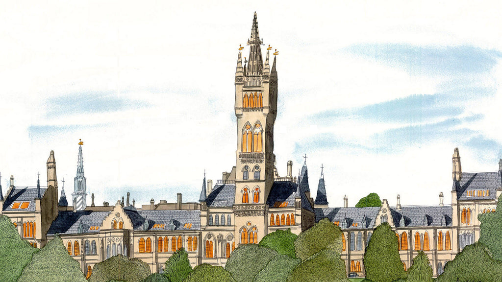 Glasgow University - Prints - Adrian McMurchie