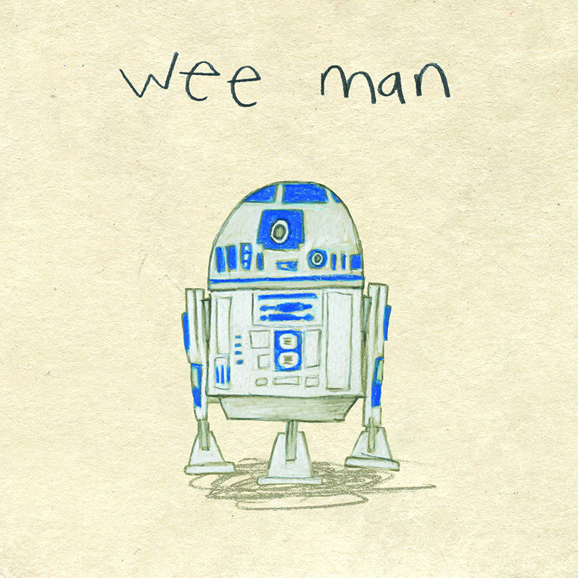 Wee man print - Prints - The Grey Earl - 1