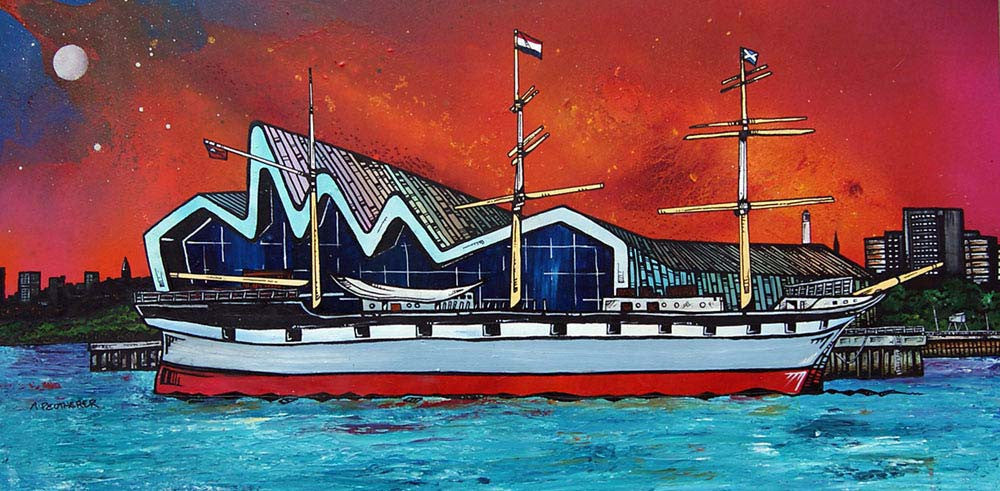 Riverside Museum & the Glenlee - Prints - Andy Peutherer