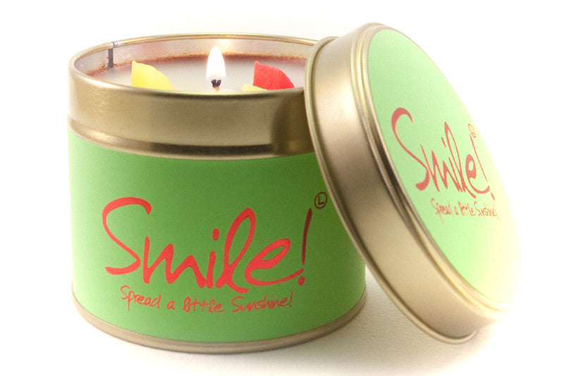 Smile scented candle - Candles - Lily Flame