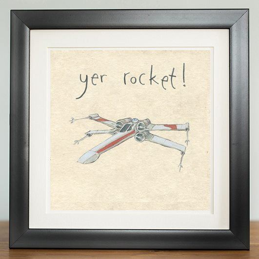 Yer Rocket - Prints - The Grey Earl