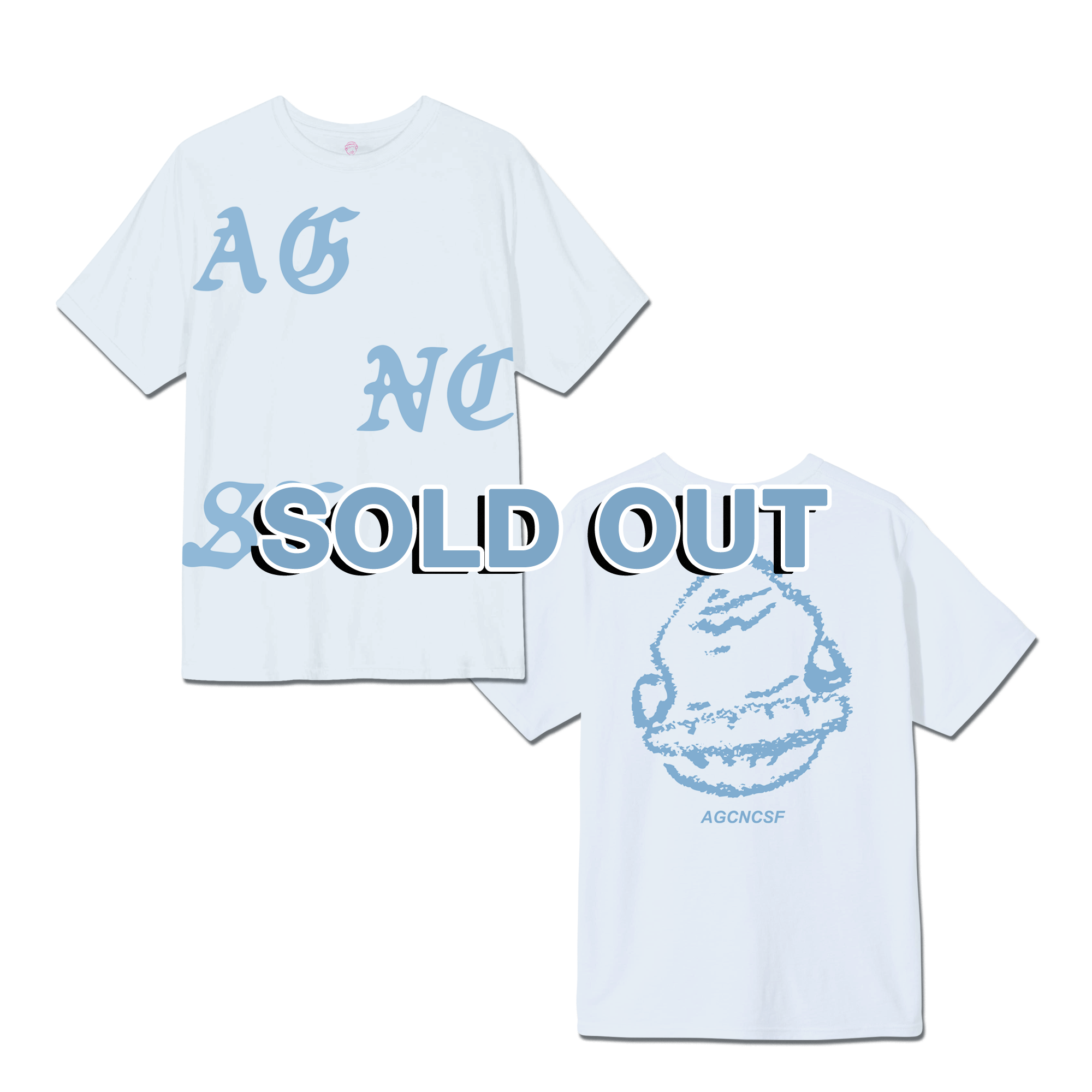 AGCNCSF TEE - WHITE