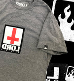 Lucero Cross T-Shirt Grey