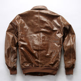 Air Force Pilot Genuine Cow Leather Jacket