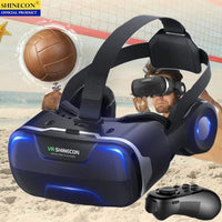 Virtual Reality 3D Glasses Stereo-VR Google Cardboard-Bluetooth