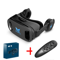 VR Glasses 3D Headset-Virtual Reality-3D Movies & Games-Wireless