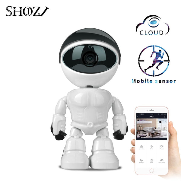 Baby Monitor Wireless Robot-HD Camera-Night Vision & Audio