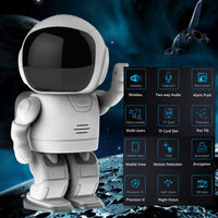 Wireless Robot-Baby Monitor-IP Camera-Wifi-Security Surveillance-Night Vision