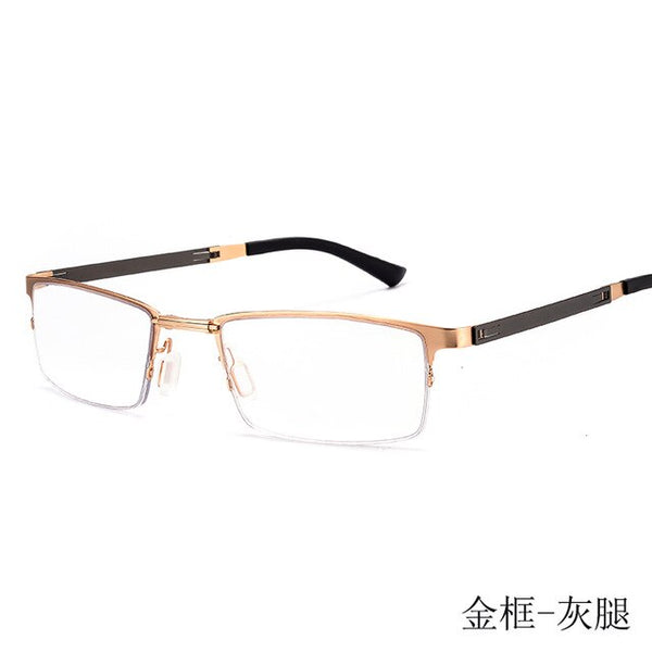 Reading Glasses Anti Blue Ray Foldable Stainless Steel