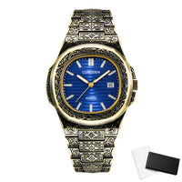 Men Watch Creative Antique Design Quartz