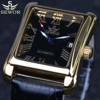 Men Watch Automatic Mechanical Roman Display