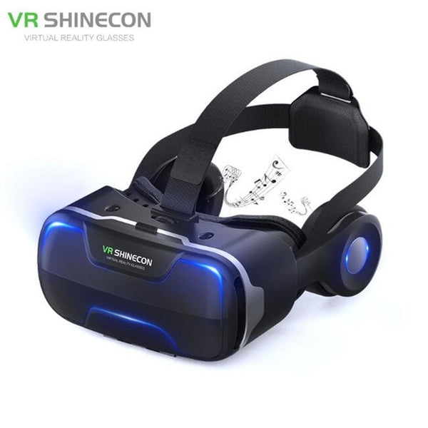 VR Virtual Reality-Headset-3D Glasses-Stereo-Wireless