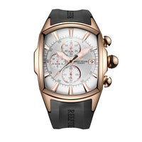 Waterproof-Sport -Watch -Rose Gold -Rubber Strap -Military -Men-Watches - New Technology Online