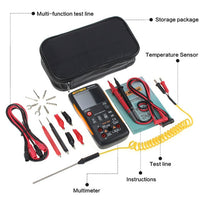 ANENG Q1 -digital multimeter- 9999 -Analog Tester -True RMS Professional Multimetro DIY Transistor Capacitor NCV Testers lcr Meter - New Technology Online