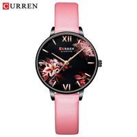 Women-Watch-CURREN-Black-Stainless-Steel-Quartz-New-Technology - New Technology Online