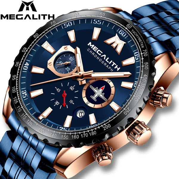 Men Military Watch-Aircraft Pointer-Luminous Quartz 30 M Waterproof
