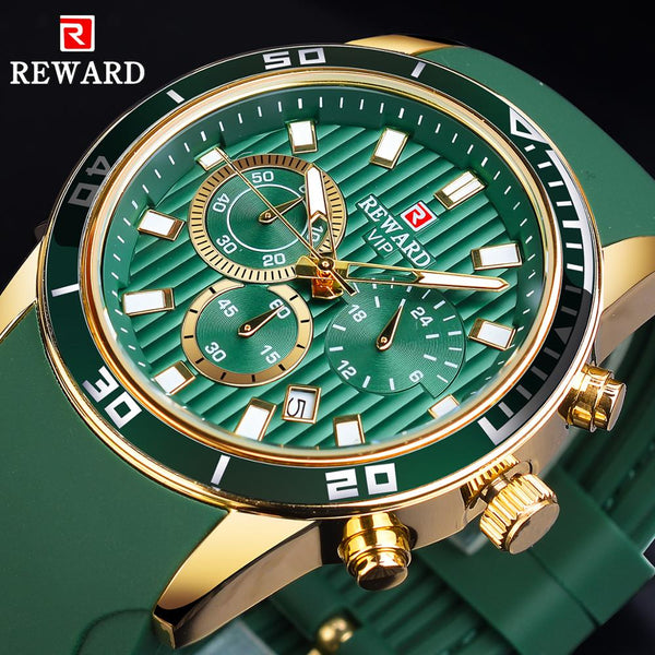 Men Military & Sport--Watch--Calendar Display Luxury Design