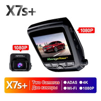 Car DVR Camera 4K GPS WiFi-2880*2160P-Motion Detection-Night Video