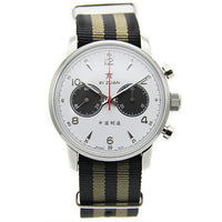 Men Pilot Chronograph Mechanical Automatic Watch
