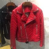 Women Coat Genuine Leather High Quality