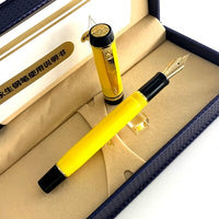 Pen 14k Gold Nib Premium Resin Ink Fine Tip 0.5mm