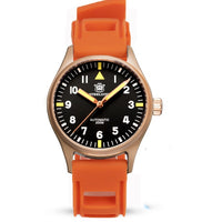 Pilot Watch Mechanical Automatic Bronze With Sapphire Crystal