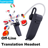 Wireless Translator Earphone Bluetooth Support 50 Languages