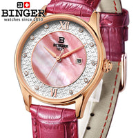 Switzerland Watch Quartz With Sapphire Crystal