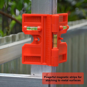 Foldable Magnetic Post Level