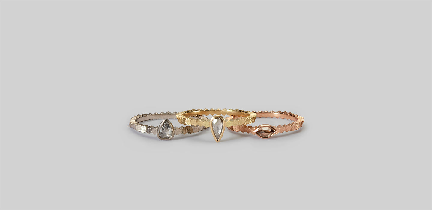 Jo Hayes Ward engagement rings
