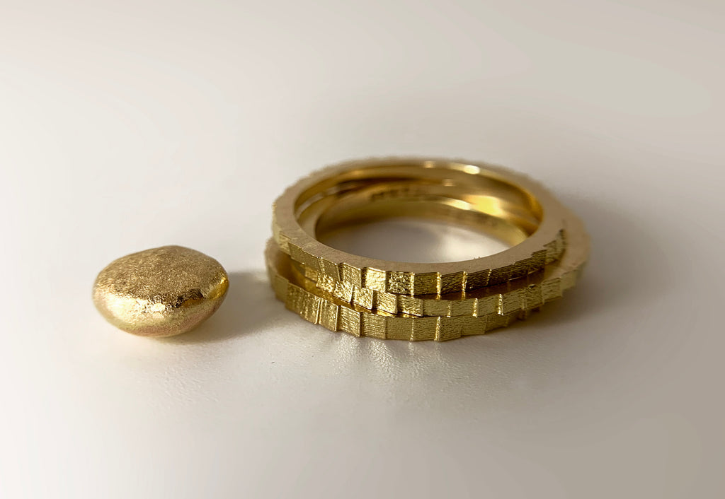 Carolines rings and leftover gold